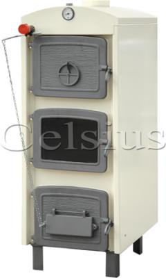 Celsius P-V25 Látványkazán + Hőmérő + Töltő-ürítőcsap